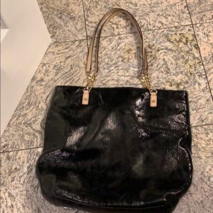 Handbags - Michael Kors Black Patent Leather bag